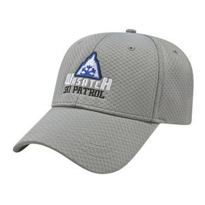 Soft Textured Stretch-Fit Performance Cap